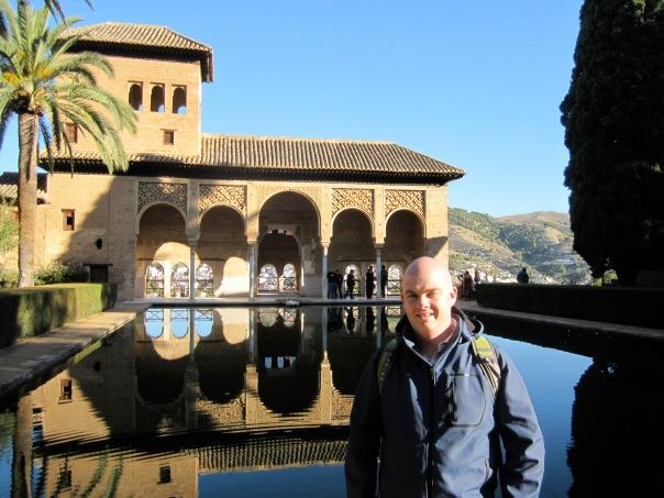 À l'Alhambra de Grenade, en Espagne, en octobre 2010.